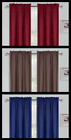 1 SET SOLID OR PRINTED WINDOW CURTAIN PANEL LINED FOAM BACKING LIGHT BLOCKING 84