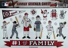 Washington Nationals Family Spirit Decal Set on Ebay