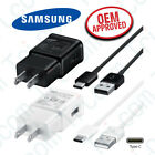 Original Samsung Galaxy S10e S10 Plus Fast Charger 1M Type C Cable Wall Adapter