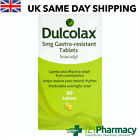 Dulcolax Laxative 10, 20 ,40, 60, 100 TABLETS - Effective Constipation Relief
