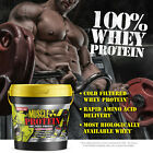 Colossal labs Whey Muscle Protein powder 12LB Isolate/Blend protein 162 Servings