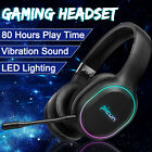 INSMA P80S Pro Wireless Gaming Headset bluetooth w/ Microphone For PC 2020🔥