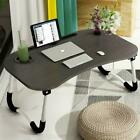 Foldable Laptop Bed Table Lap Standing Desk for Bed and Sofa Breakfast Lapdesk
