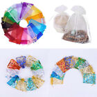 Kyпить US 50~200 Sheer Coralline Organza Favor Gift Bags Jewelry Pouches Wedding Party на еВаy.соm