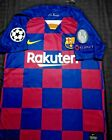 Messi Barcelona Champions League Jersey