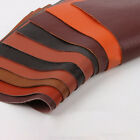 Genuine Real Leather Chestnut Fabric First Layer Cowhide Hide DIY Material