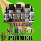 Vallejo Surface Primer 17 ML and 60 ML Bottles of Paint
