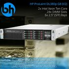 HP DL380p G8 8-Bay Configurable Rackable Server 2x Xeon Six or Eight Core 96GB