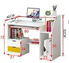 Small Large Computer Desk PC Table Home Office Worksation Kids Writing Study