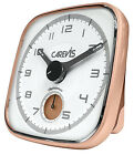 CAREVIS Alarm Clock, Modern, Analog, Iluminated Dial, Snooze, HQ + BOX