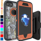 For iPhone 6 6s 7 8 Plus Shockproof Case Cover Belt Clip Fits Otterbox Defender