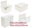 Shipping Cardboard Postal Boxes Mailing Gift Packet Small Parcel adhesive strip