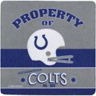 Indianapolis Colts Property of Indianapolis Colts Four Piece Foam Coaster Set $9.99 USD on eBay