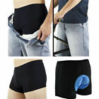 Men Women Bicycle Bike Underwear Pants Cycling Shorts with Sponge Gel 3D Padded