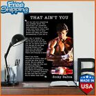 Rocky Balboa Poster That Ain't You Motivational Quote Poster [No frame]