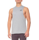 Under Armour Sportstyle Tank Top Sleeveless Gym Muscle shirt Grey Workout $19.99 USD on eBay