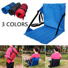 Outdoor Camping Picnic Folding Seat Cushion Chair Pad Beach With Back Support