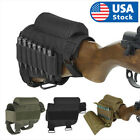 Tactical Rifle Butt Stock Cheek Rest Pad Left/Right Hand Ammo Carrier Pouch Bag for sale  Shipping to South Africa