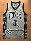 Hoyas Allen Iverson #3 University of Georgetown 76ers Basketball Jersey Sewing