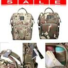 Waterproof Mummy Diaper Bags Camo Print Backpack Large Capacity Baby Care Bags