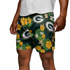 Green Bay Packers Floral Swimming Trunks $42.99 USD on eBay