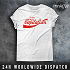 Enjoy Capitalism T Shirt Coca Cola Money Economy Karl Marx Socialism Communism £9.99  on eBay