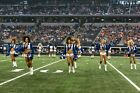Photo of The Dallas Cowboys Cheerleaders entertain the crowd at a National Fo l $9.5 USD on eBay