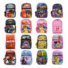 "Licensed Character  Large 16"" Inch Kid Gift School Toddler Backpack USA SELLER $25.99 USD on eBay"