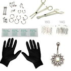 Kyпить 41 Pcs Jewelry Body Piercing Tool Kit Belly Tongue Eyebrow Nipple Needles Kit на еВаy.соm