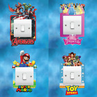 Variety Light Switch Surround Vinyl Sticker Decal Kids Boys Girls Bedroom Decor