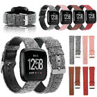 Replacement Leather Strap Bands Wristband For Fitbit Versa 2/Lite Smart Watch US