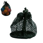 Durable Mesh Net Bag Golf Tennis Ball Storage Pouch Carrier for 12/36/48 Balls