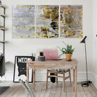 3Pcs Vintage Abstract Oil Painting Canvas Print Picture Home Wall Decor  S