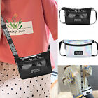 Casual Shiny Leather Pouch Waist Phone Pocket  Fanny Pack Belt Bag Bum Bag Women