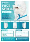 Face Shield - bulk packages(450/1500/3000 pieces; $2.60/ea ~ $3.00/ea)