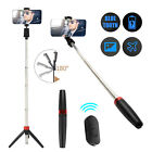Bluetooth Selfie Stick Tripod Monopod Extendable For iOS Andriod +Remote Shutter