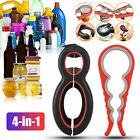 All in1 Bottle Can Jar Opener Beer Lid Multi Function Kitchen Twist Gripper Tool