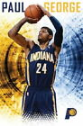129493 Paul George Indiana Pacers NBA Decor LAMINATED POSTER FR on eBay