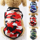 Внешний вид - Hot Summer Dog Clothes Camouflage Vest For Small Dogs Pet Puppy T Shirt Colorful