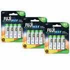 Fuji EnviroMax Alkaline AA + AAA Eco Friendly Batteries Set (8-48-Packs)