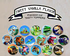 LEGO Jurassic World Park Dinosaur Birthday Party Wafer topper cupcake Cup Cake