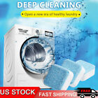 10/20 X Washing Machine Cleaner Washer Deep Solid Cleaning Effervescent Tablets