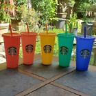 Kyпить Starbucks Color Changing Summer Pride 2020 COLD Reusable Cup tumbler New Venti  на еВаy.соm