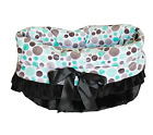 "MiragePet Reversible 16""x 12""x10"" Snuggle Bugs Pet Bed, Bag, and Car Seat in One"
