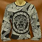 BRAND NEW Season VERSACE Long Sleeve T-SHIRT Size M- L- XL- 2XL