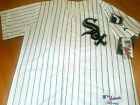 Brand New! Chicago White Sox Majestic w/Sox Patch sewn Jersey MENS WHITE plain on Ebay