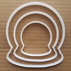 Snow Globe Water Xmas Shape Cookie Cutter Dough Biscuit Pastry Fondant Sharp
