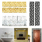 Mirror Tiles Wall Stickers Self Adhesive Stick On Diy Art Home Room Decal Decor