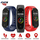 SMARTWATCH OROLOGIO M4 SMART BAND FITNESS TRACKER CARDIOFREQUENZIMETRO SPORTIVO