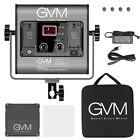 GVM Bi-Color LED Photography Video Studio Lighting Kit Panel Tripod Wireless APP